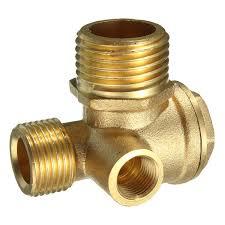 garden hose check valve. Contemporary Garden Brass 3 Port Central Pneumatic Air Compressor Check Valve 444430mm In Garden Hose N
