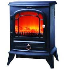 image of portable electric fireplace space heaters