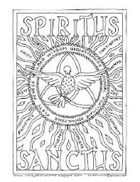 Small Picture Holy Spirit Coloring Page school ideas Pinterest Holy spirit