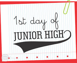 on the first day of junior high it was unclear who was more printable first day of school sign junior high school