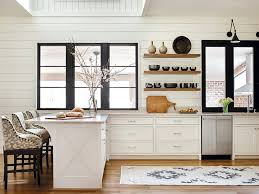 Modern farmhouse kitchen design High End Davenport Imber Combines The Minimalistic Look Of Modern Kitchen With The Charm Of Traditional Farmhouse To Showcase The Best Of Both In Modern Kitchen Bath Design News Modern Farmhouse Kitchen Bath Design News