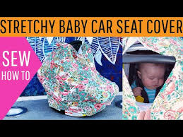 baby car seat cover pattern