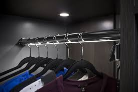 image of lighted closet rod hafele