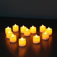 <b>12 pcs</b>/<b>pack</b> Flickering Flameless LED Tea light Flicker Tea Candle ...