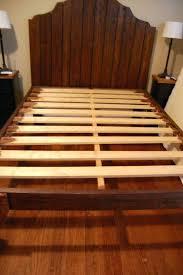Wooden Slats For King Size Bed Unique Bed Frames Knock Down Bed ...
