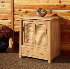 Teak Wood Kitchen Cabinets Kitchen Intriguing Brick Outdoor Kitchen Cabinet With Grill