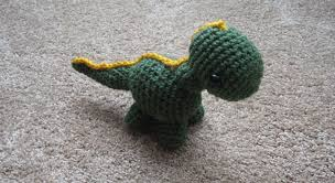 Free Crochet Dinosaur Pattern Delectable Almost Unschoolers Free Crochet Pattern Link Baby Dinosaur