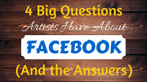 4 Big Questions Artists Have About Facebook (And the   Artwork Archive
