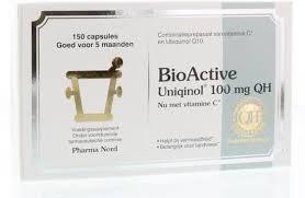 bioactive q10 uniqinol 100mg 150 stuks