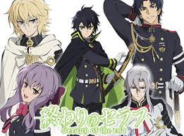 Image result for انیمه owari no seraph