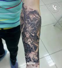 ангел значение татуировок в орле Rustattooru