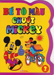 Bé Tô Màu Chuột Mickey 2