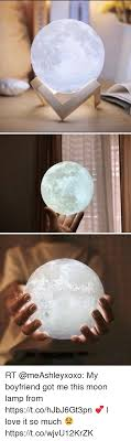 Rt My Boyfriend Got Me This Moon Lamp From Httpstcohjbj6gt3pn I