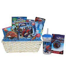 ultimate super hero gift baskets for kids fun and games ideal get well or birthday gift baskets for boys 3 to 8 years old walmart