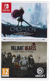 Child Of Light Ultimate Edition Switch Physical Amazon Com Child Of Light Valiant Hearts Nintendo Switch