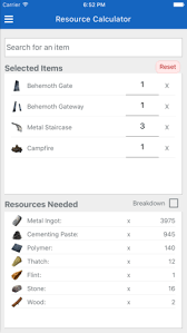 Store App Companion On Ark survive The
