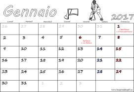 Calendari 2017 Da Stampare Baby Flash