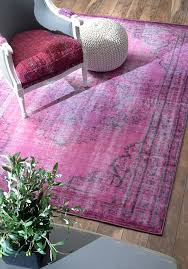 nuloom overdyed rug pink