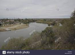 Mexico, at left, and the Rio Grande River are seen from Roma, Texas on  January 17, 2018. 17th Jan, 2018. Credit: David Ryder/ZUMA Wire/Alamy Live  News Stock Photo - Alamy