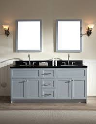grey double vanity. Simple Double ARIEL Hamlet 73 On Grey Double Vanity 7