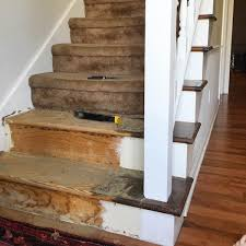 carpet laminate stairs. learning what is under the stair carpet from rachel schultz 2 carpet laminate stairs