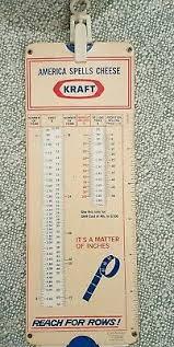 Vintage Kraft Slide Chart Profit Calculator 1975 Perrygraf