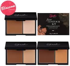 contour makeup kit for dark skin. i picked the medium shade and kit is ideal for indian skin tone. it comes with two shades, one to sculpt highlight. contour makeup dark n