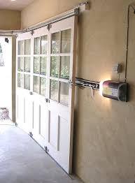 Horizontal Sliding Garage Doors Sliding Garage Door Horizontal