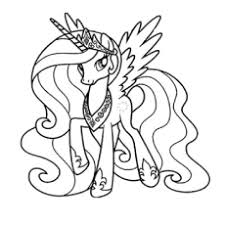 Small Picture Top 25 My Little Pony Coloring Pages Your Toddler Will Love To Color