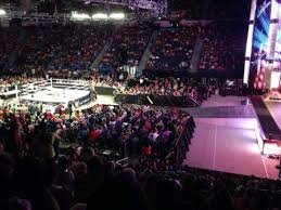 Wwe Seating Chart Xl Center Xl Center Section 114 Row T Home Of Hartford Wolf Pack
