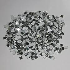 100x small mirror mosaic tiles square