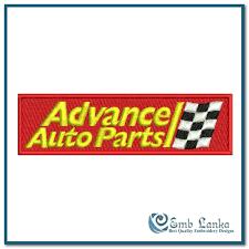 advance auto parts logo jpg. Delighful Advance Advance Auto Parts Logo 2 Embroidery Design In Jpg A