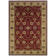 this review is from kiawah channing red 3 ft x 5 ft area rug