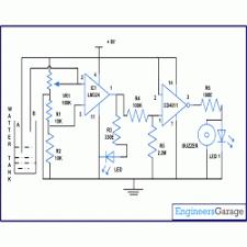 tank overflow alarm circuit diagram water tank overflow alarm circuit diagram