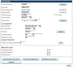 Planit Loan Amortization Calculator Planipedia