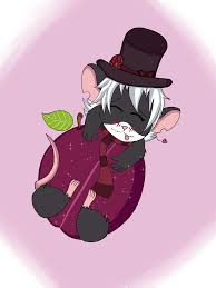 Plum Mouse by TheLittledDemonCat on ...