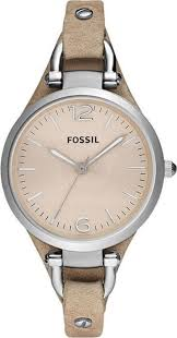 Наручные <b>часы женские</b> Fossil, ES2830, бежевый