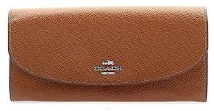 Coach Crossgrain Leather Slim Envelope Wallet -  F54009