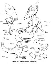 Small Picture Dinosaur Train Coloring Pages Getcoloringpages Com Coloring