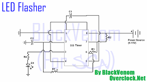clock circuit page 7 meter counter circuits next gr 12 Volt Flasher Circuit Diagram 555 timer led flasher circuit 12 volt led flasher circuit diagram