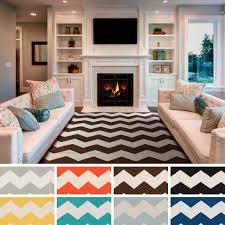 black and white chevron area rug 3 4 6 rugs for stylish floor decor