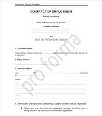 The employment status depends on the irs tax classification of the hired individual; 16 Employee Contract Examples Ms Word Pages Google Docs Pdf Examples