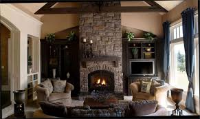 Family Room Decoration Ideas In Modern How To Decorate For Christmas With  Fireplace Long