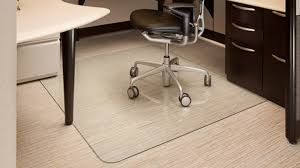Perfect Office Floor Mats Glass Chair Mat 42 C And Impressive Design