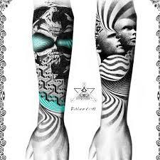 сделать татуировку предплечье на предплечье в городе москва по