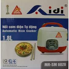 Nồi cơm điện ủ đa chiều 1.8L Aidi MR-SM 6026 - Nồi cơm điện Thương hiệu No  Brand