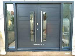 glass double front door. Double Wood Doors With Glass Front Wooden Door .