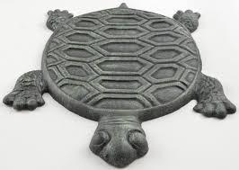 decorative garden stepping stones. Decorative Cast Iron Turtle Yard \u0026 Garden Stepping Stone - Verdigris 12.75\ Stones