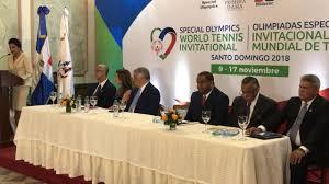 Resultado de imagen para República Dominicana recibirá a más de 400 atletas Tenis de Olimpiadas Especiales