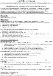 Attorney Resume Sample Template Attorney Resume Templates Mazard Info
